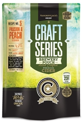 811959 - Mangrove Jacks Peach and Passionfruit Cider Kit