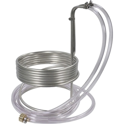 "841124 - Wort Chiller - Stainless Steel - 3/8"" x 25ft."