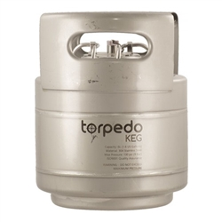 843313 - 1.5 Gallon Ball-Lock Keg - Torpedo Slim-Line