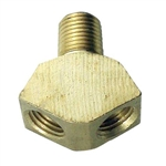 843471 - Brass Air Y-splitter