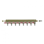 "843678 - 8-way Gas Distributor - 3/8"" barbs"
