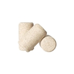 863448 - #8 Natural Agglomerated Corks - 100 pack