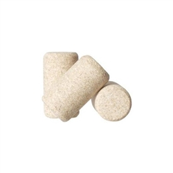 863449 - #8 Natural Agglomerated Corks - 1000 pack