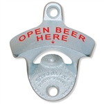 863614 - Bottle Opener - Open Beer Here - Wall Mount