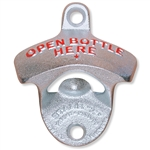 863615 - Bottle Opener - Open Bottle Here - Wall Mount