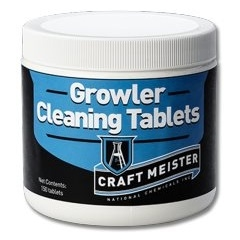 883132 - CraftMeister Growler Cleaning Tablets - 150 pack