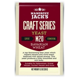 830120 - Mangrove Jacks M20 Bavarian Wheat Dry Yeast - 10g