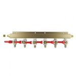 843668 - 6-Way Gas Distributor - MFL