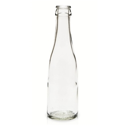 863180 - Champagne Bottles Clear - 187mL - Case of 24